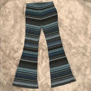 Other - .Girls knit flare pants Large